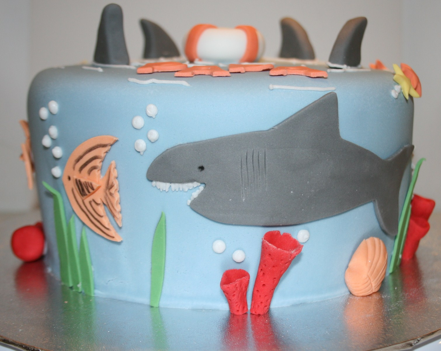 Lovely Shark Cake Template Images - Example Resume Templates ...